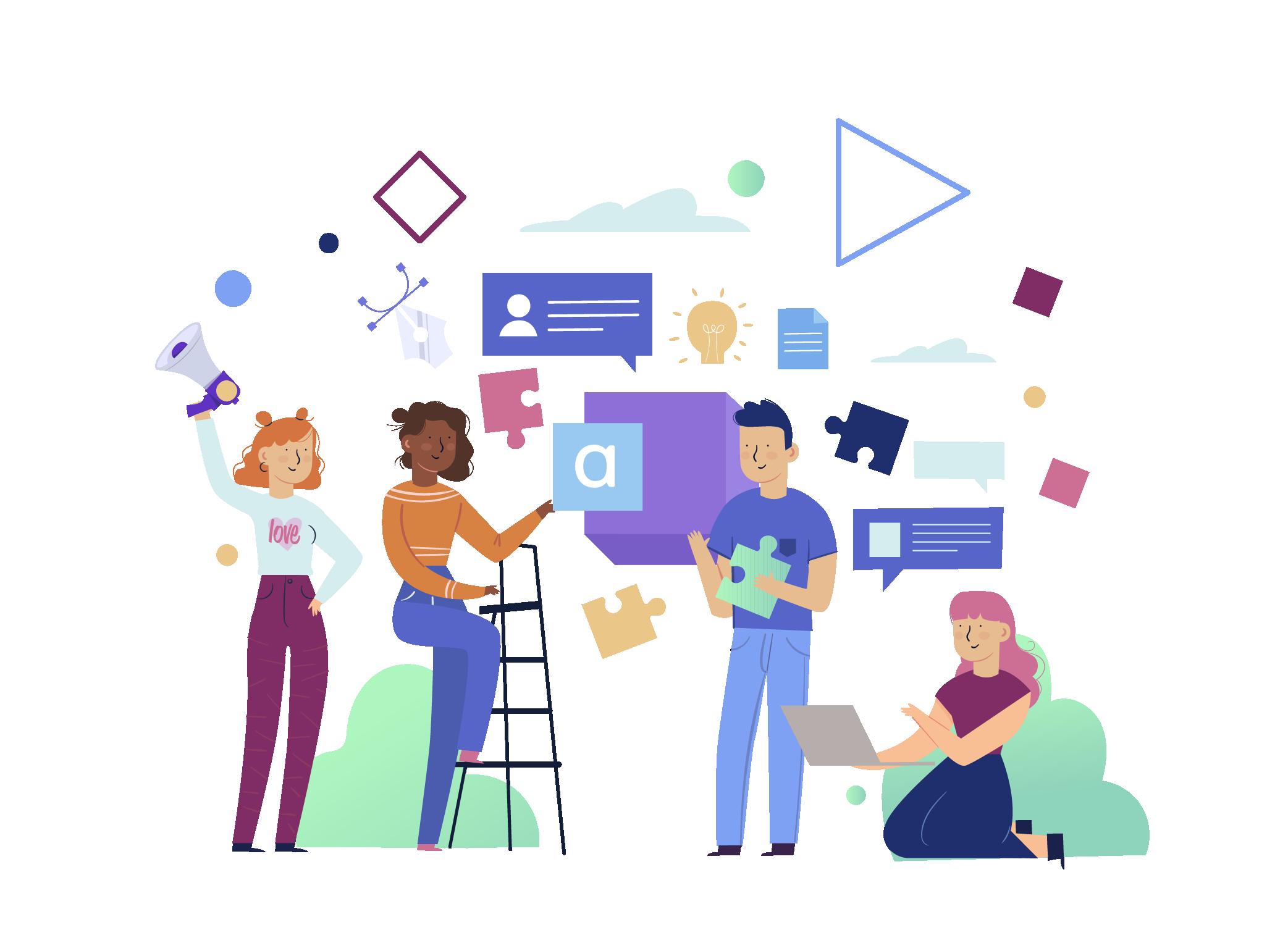 Branding: Digital Branding - Doodle Pod - Design & Marketing
